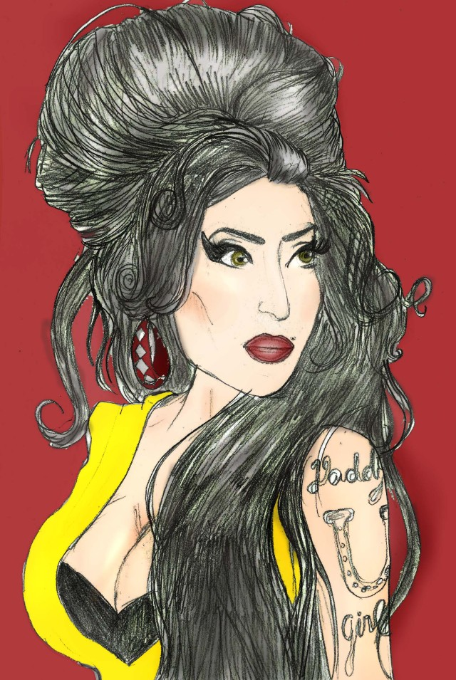 DESENHO: Amy Winehouse