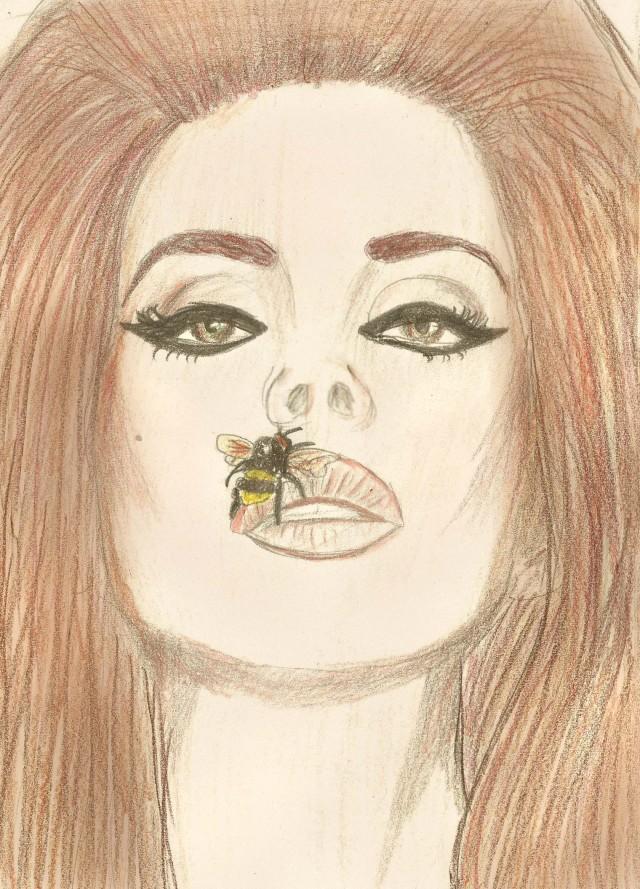 DESENHO: Lana Del Rey