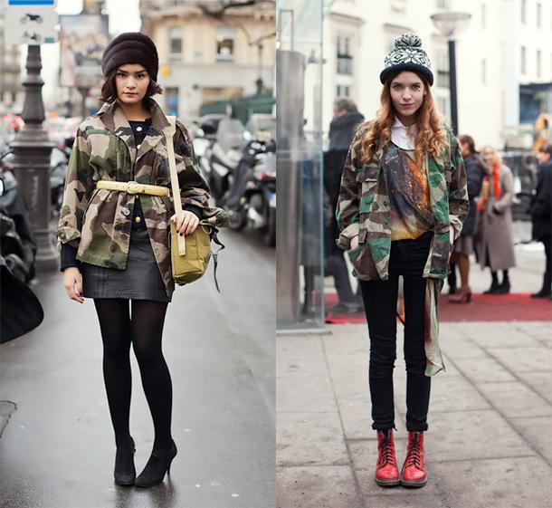 militar feminino camuflado